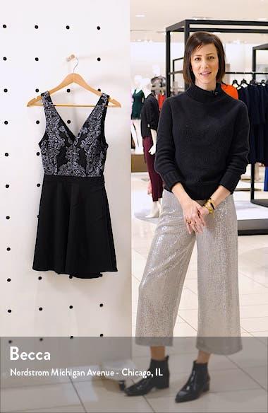 Fit & Flare Minidress, sales video thumbnail