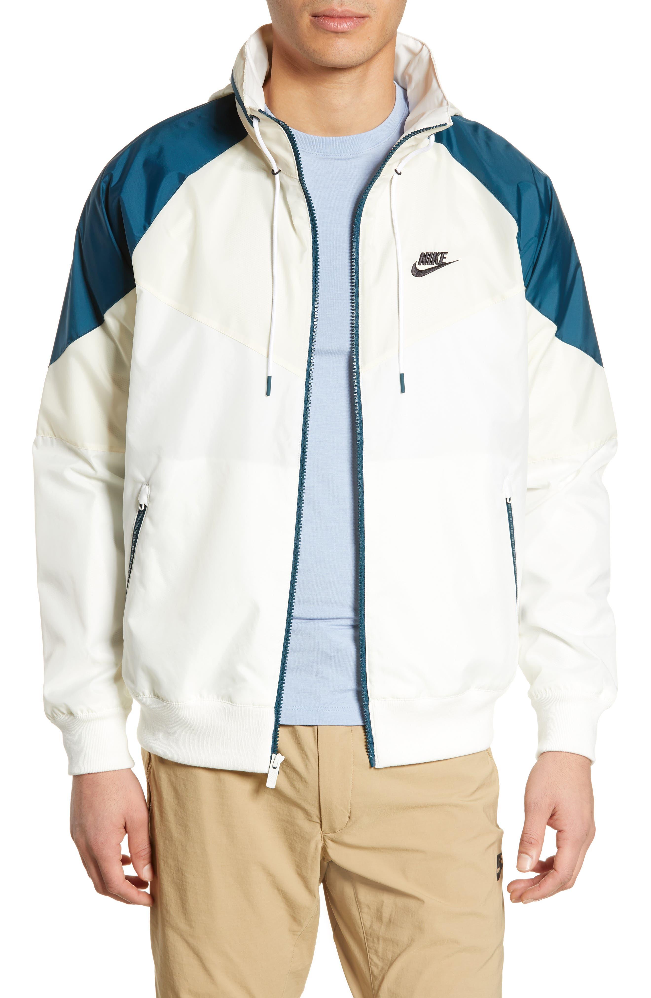 Winderunner Jacket, Main, color, SAIL/ LIGHT CREAM/ NIGHTSHADE