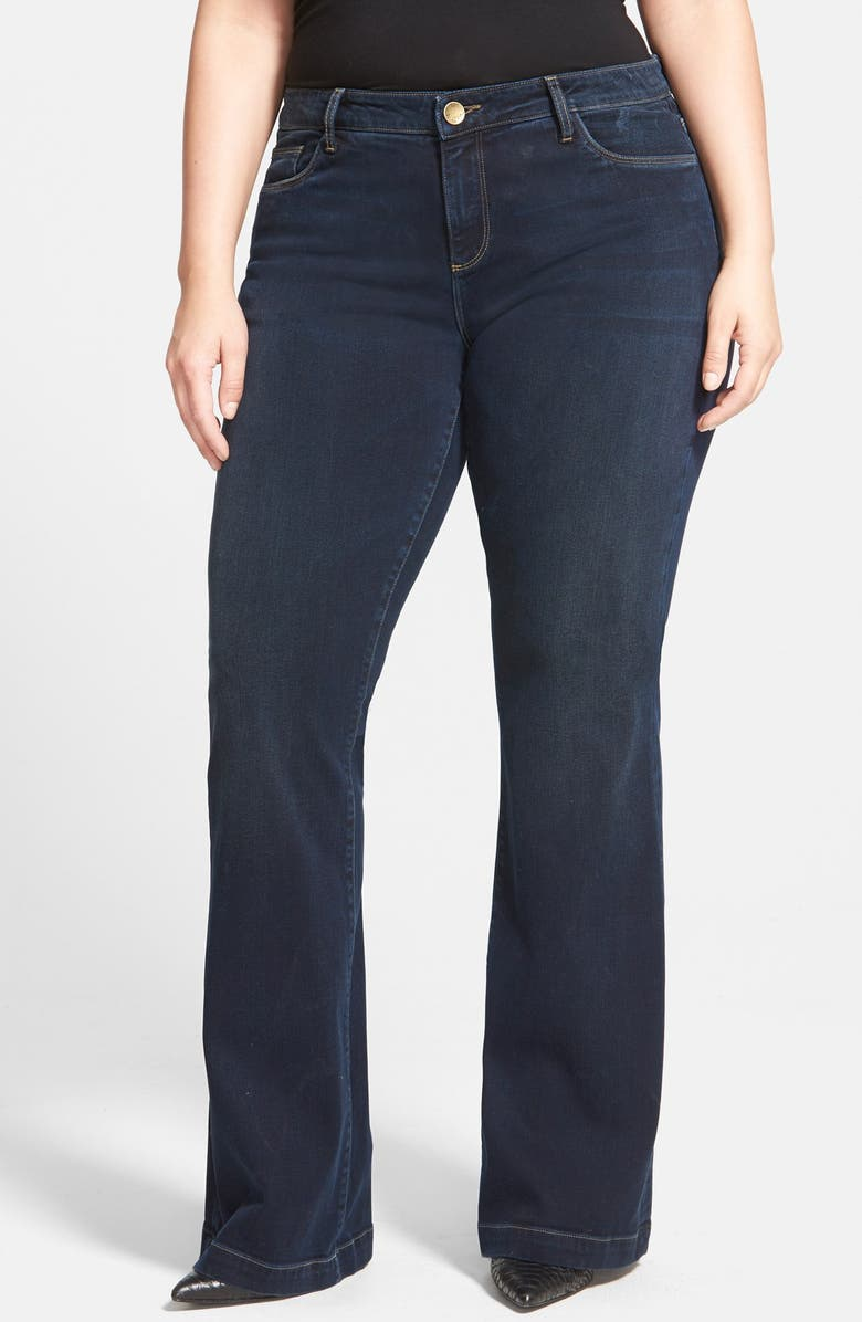 KUT FROM THE KLOTH 'Chrissy' Stretch Flare Leg Jeans, Main, color, 405