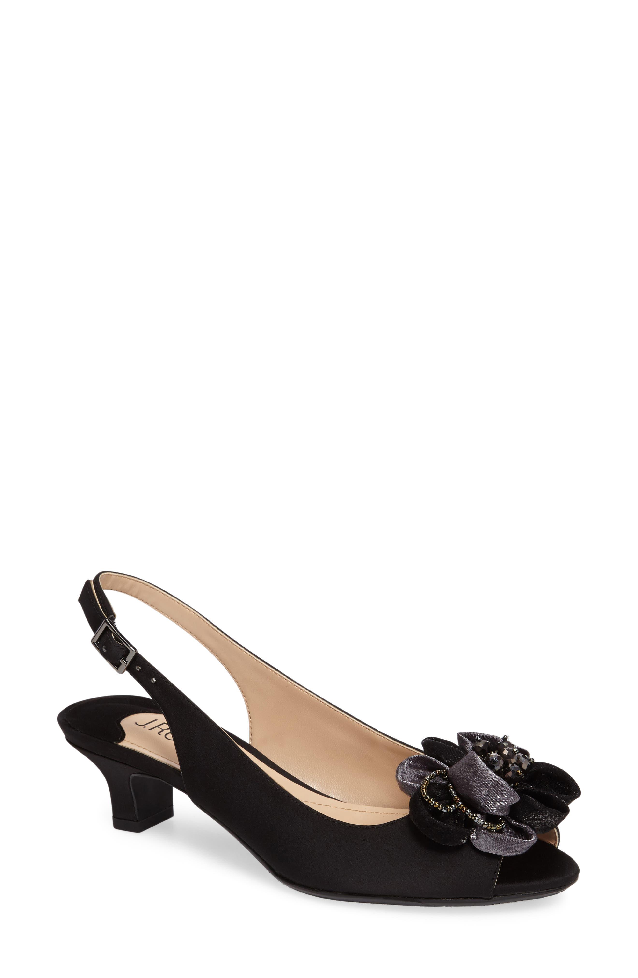 Leone Slingback Crystal Embellished Sandal