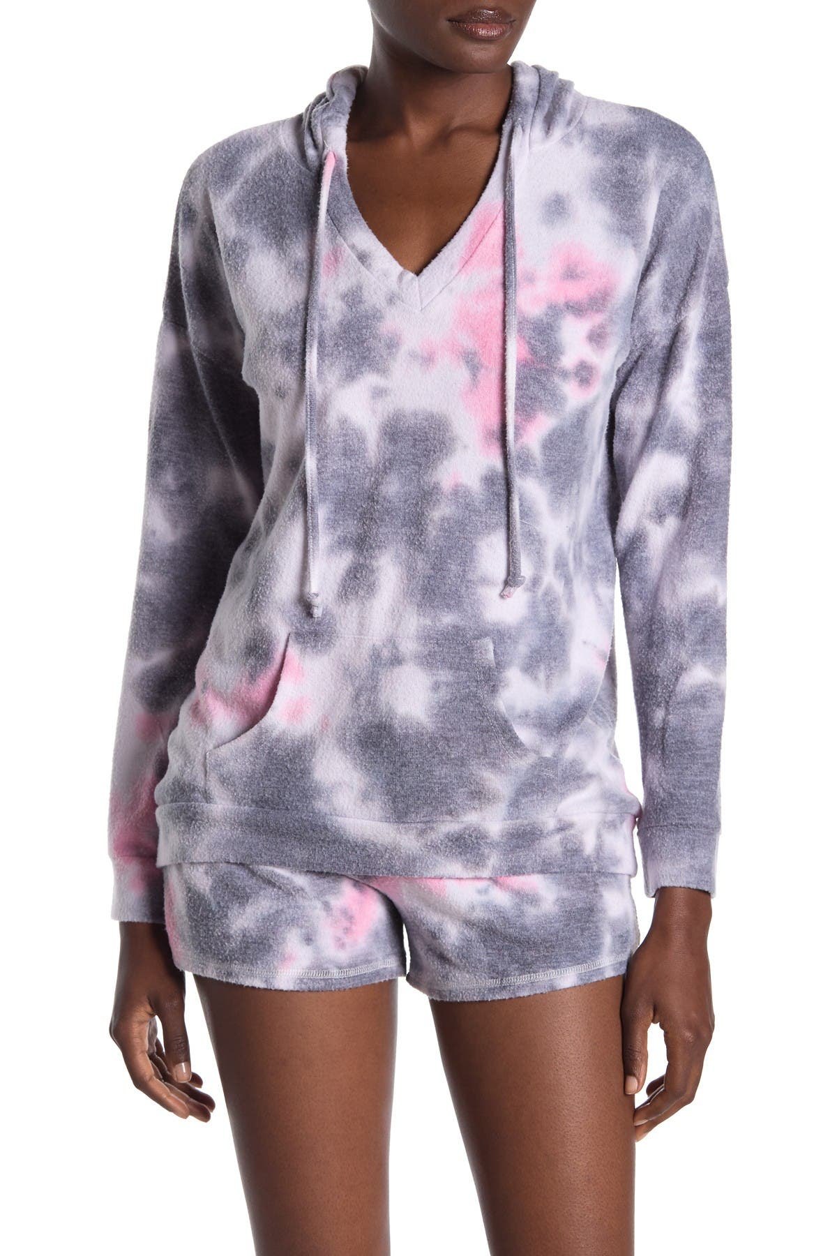 Image of Theo and Spence Tie Dye Hoodie