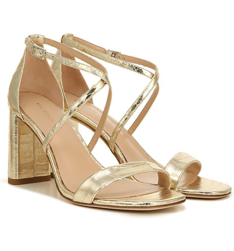 VIA SPIGA Sabinne Sandal, Main, color, SNAKE PRINT