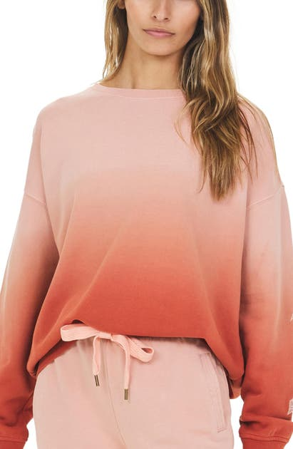 The Upside ALENA OMBRE FRENCH TERRY SWEATSHIRT