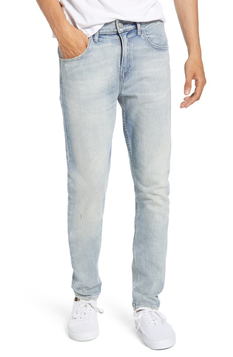 HUDSON JEANS Axl Skinny Fit Jeans, Main, color, STOKES