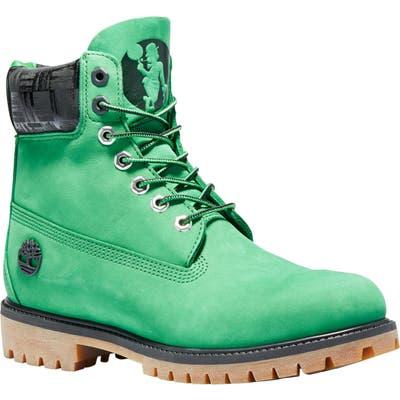 Timberland Nba Waterproof Boot, Green