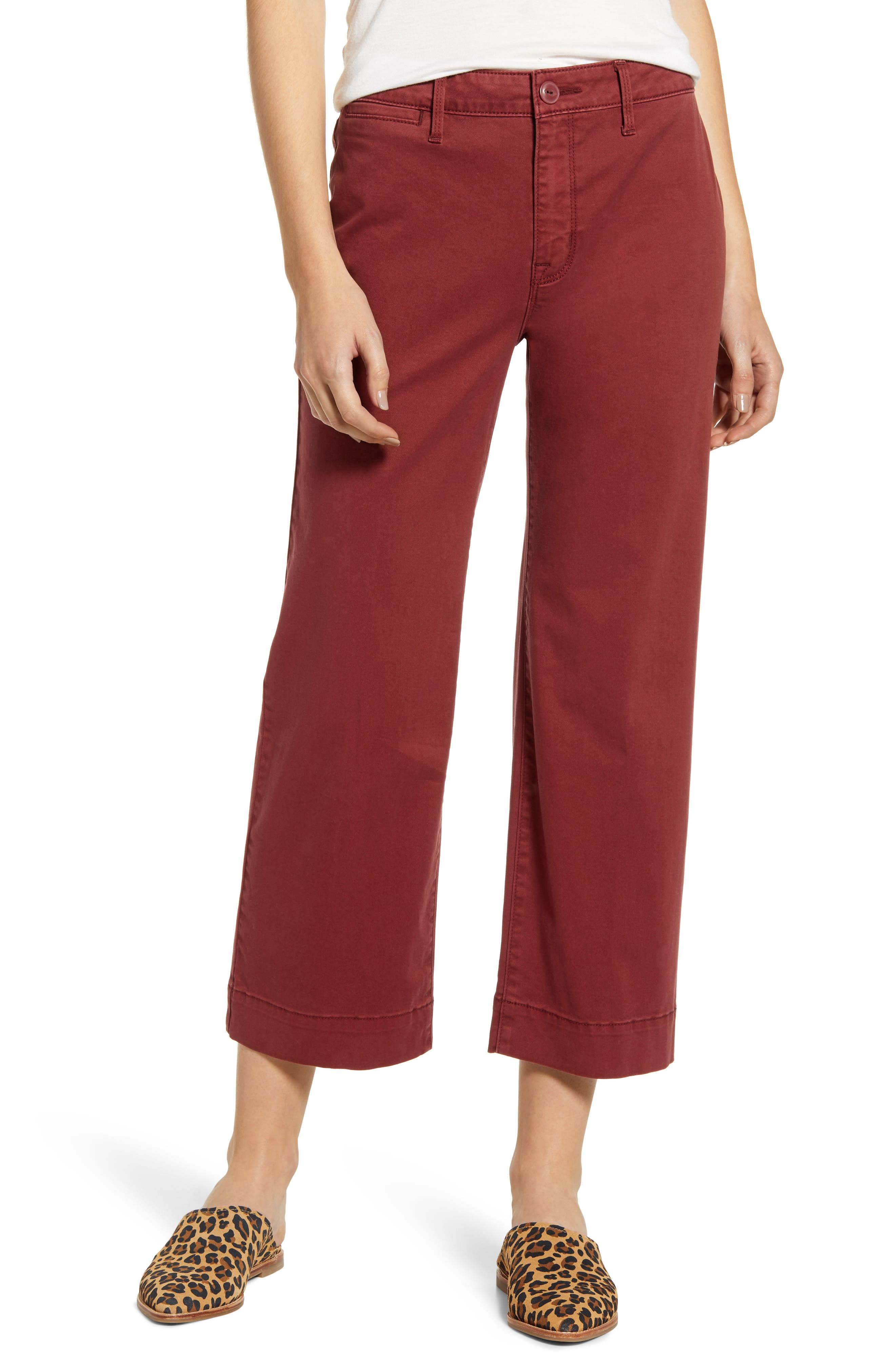 Sanctuary Wide Leg Cropped Pants