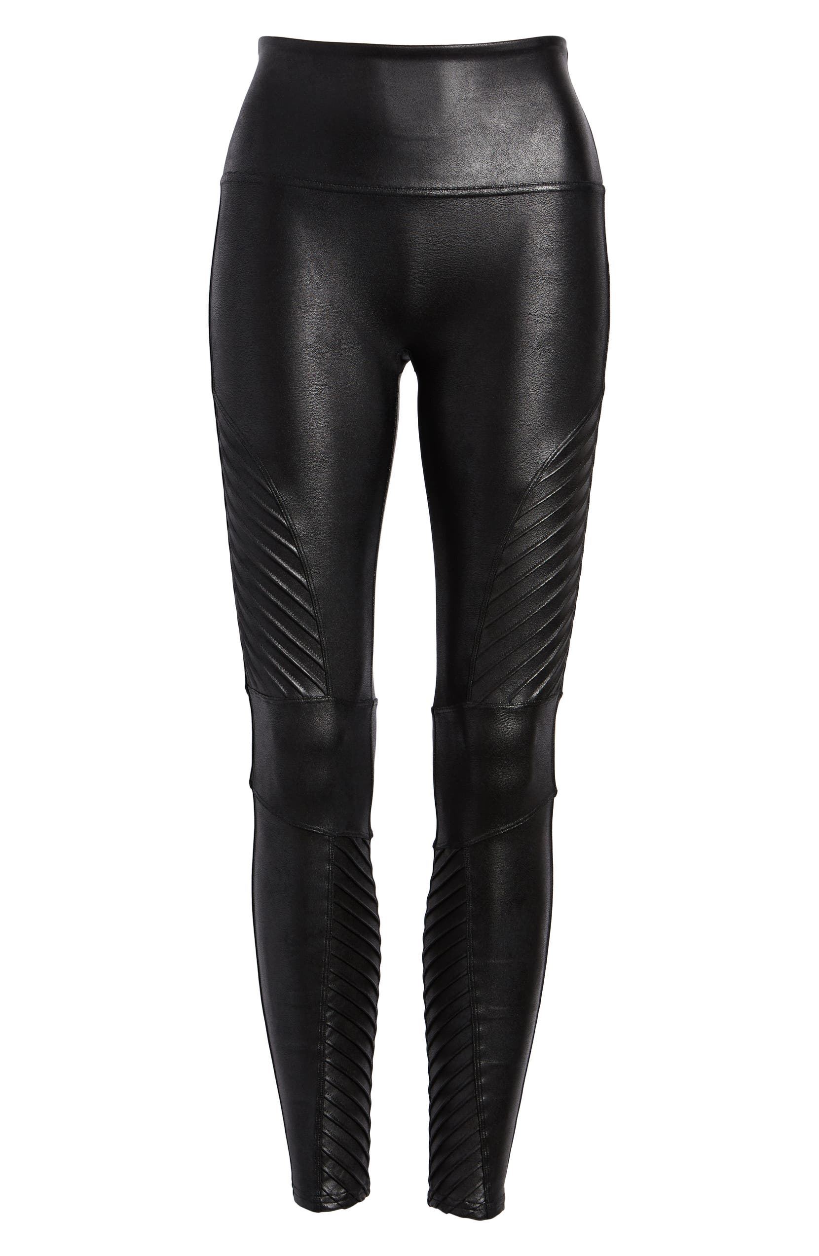 3e9e8afcfbf2c SPANX® Faux Leather Moto Leggings (Petite) | Nordstrom