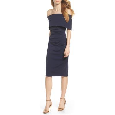 Vince Camuto Popover Dress, Blue