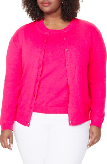 Image of NYDJ Lightweight Knit Cardigan