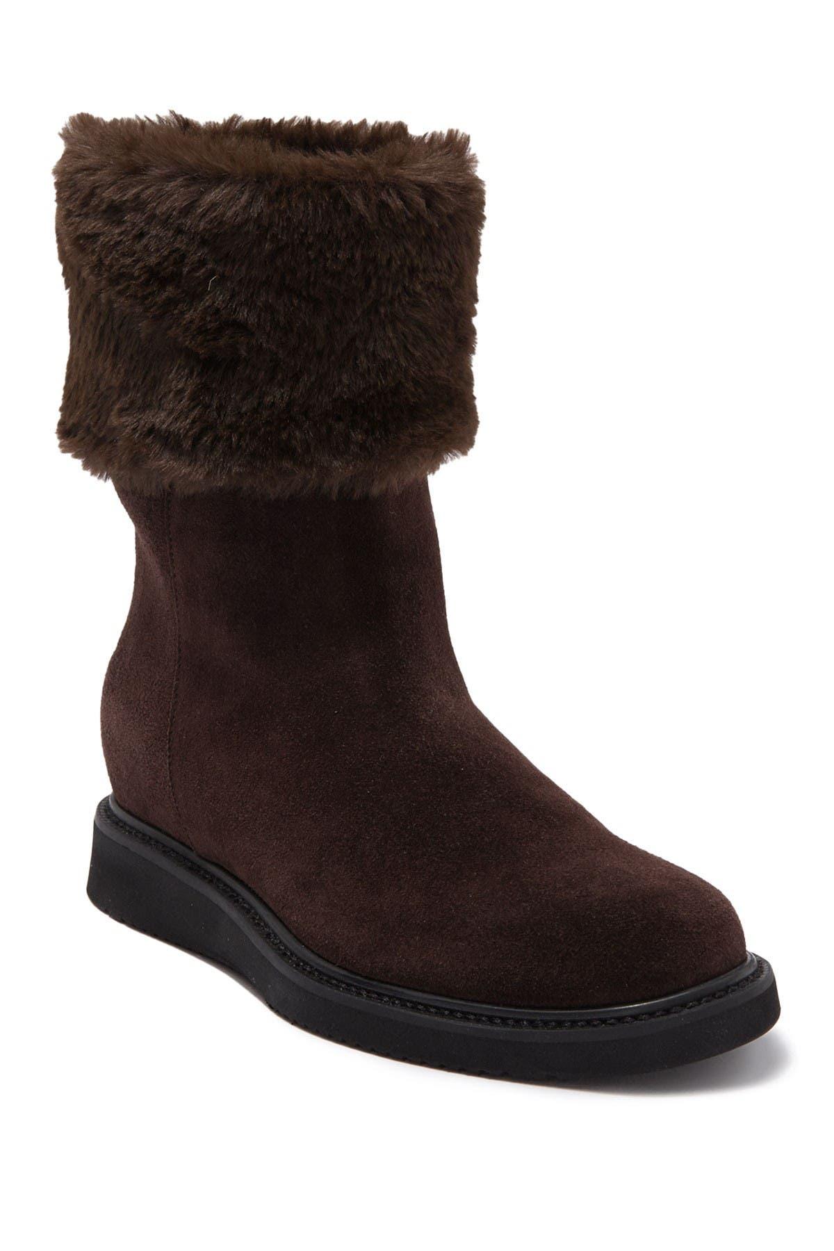 Image of Aquatalia Carlin Faux Fur Cuff Boot