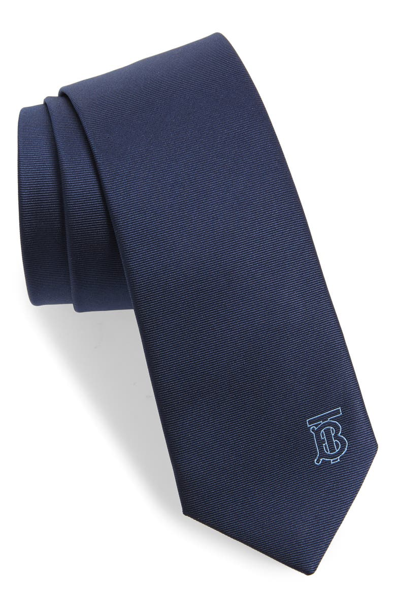 BURBERRY Manston Dot Silk Tie, Main, color, 400