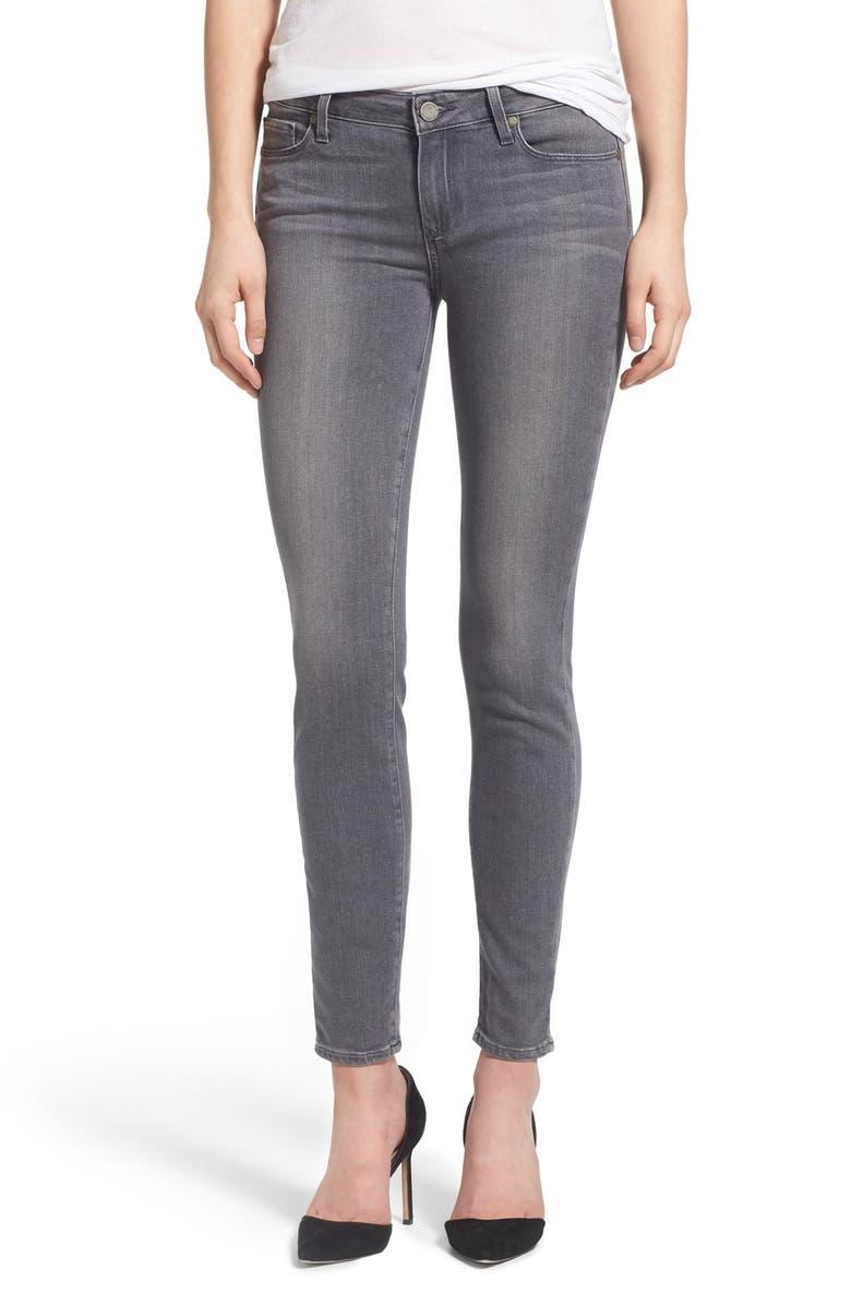 PAIGE Transcend Verdugo Ankle Ultra Skinny Jeans, Main, color, 020