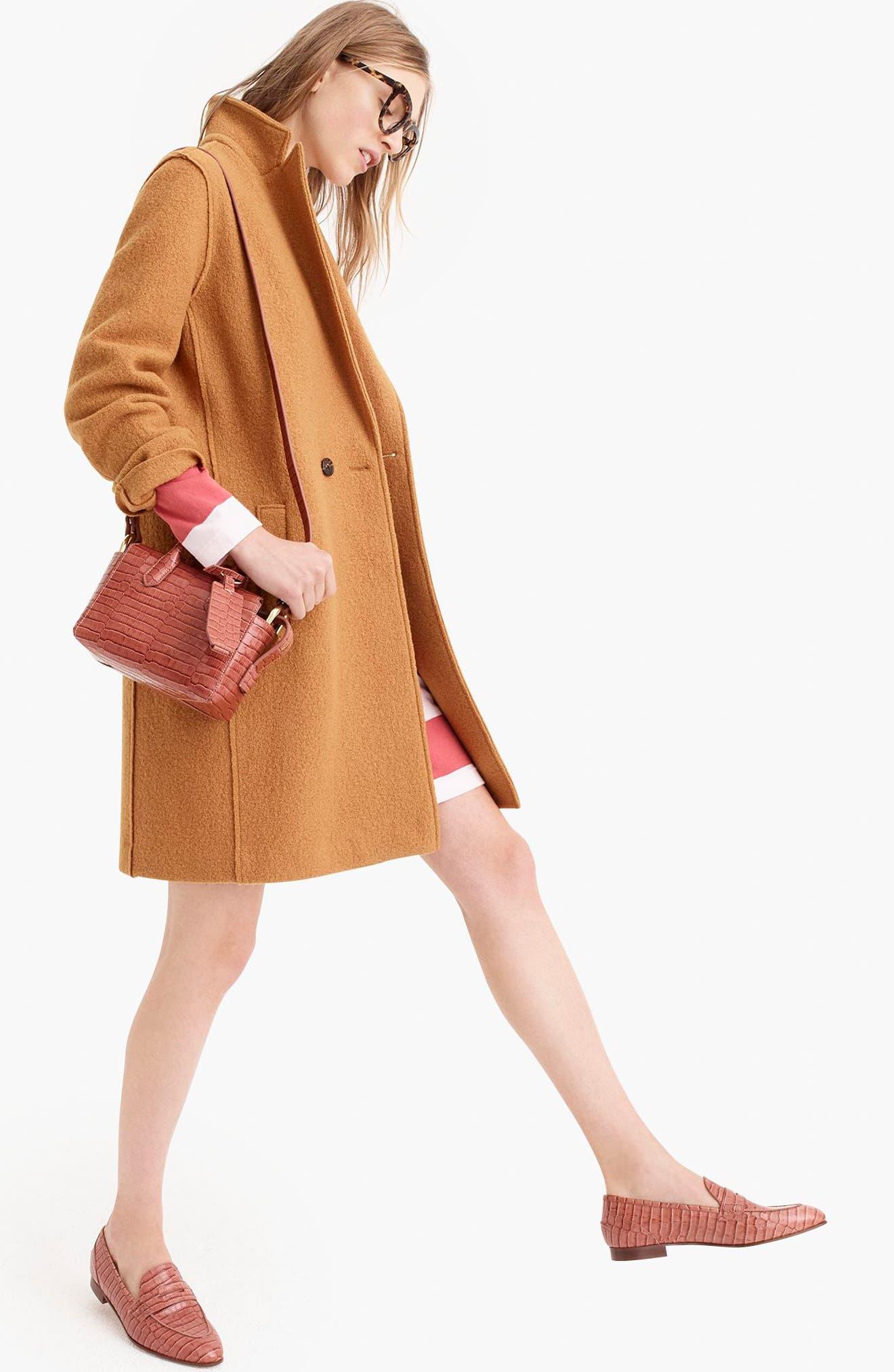 ,                             Daphne Boiled Wool Topcoat,                             Alternate thumbnail 39, color,                             250