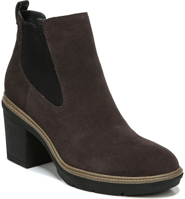 DR. SCHOLL'S First Class Water Resistant Chelsea Boot, Main, color, Brown