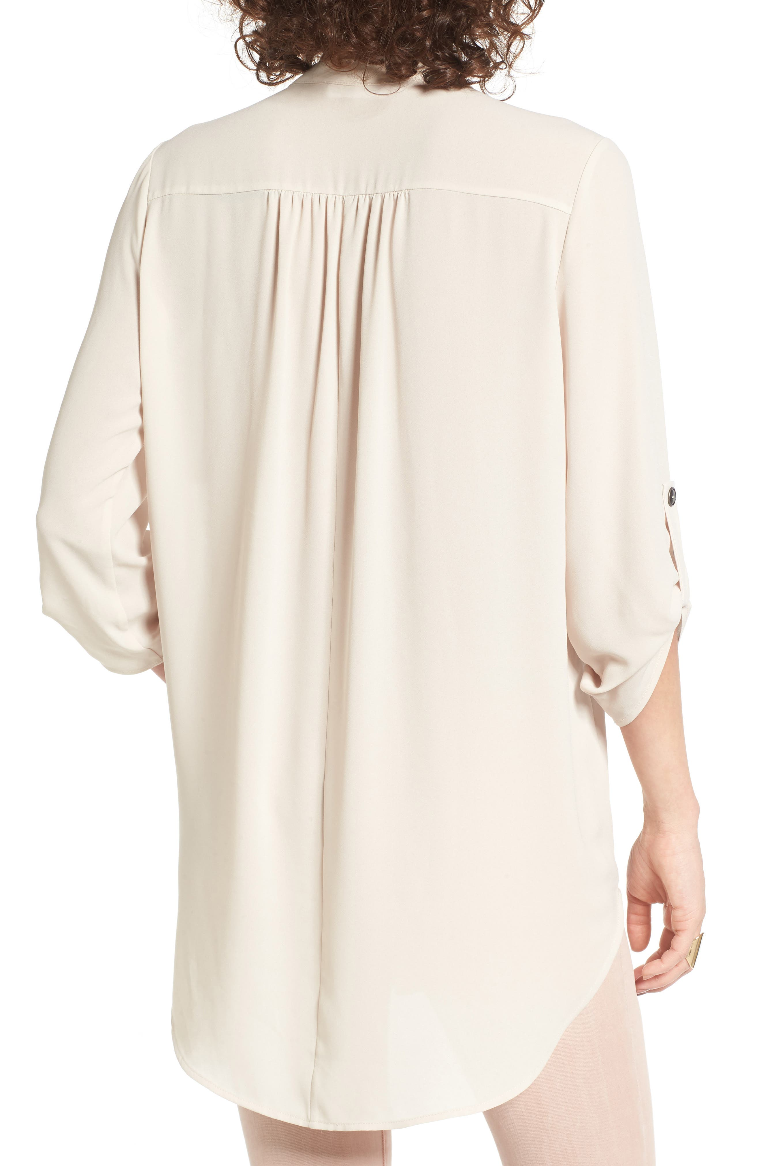 ,                             Perfect Roll Tab Sleeve Tunic,                             Alternate thumbnail 232, color,                             252