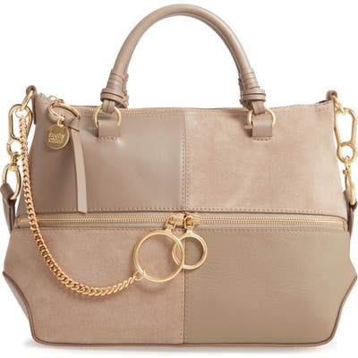 See By Chloe Emy Suede & Leather Satchel -