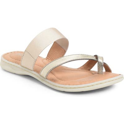 B?rn Sri Slide Sandal, Metallic