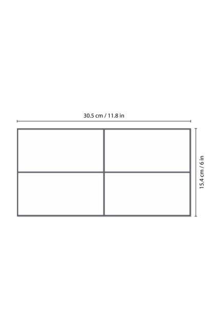 Image of WalPlus Insta Kitchen Original Brilliant White Glossy 3D Tile Stickers 12-Piece Set