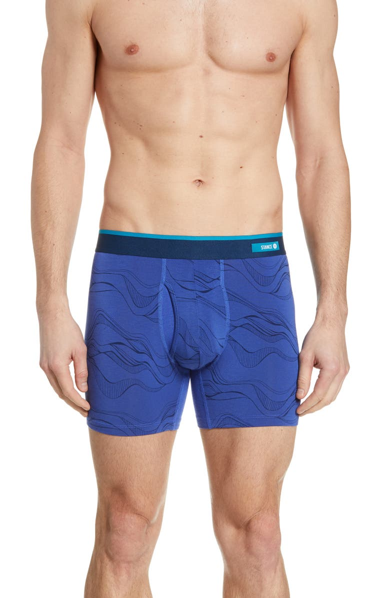 STANCE String Theory Boxer Briefs, Main, color, BLUE