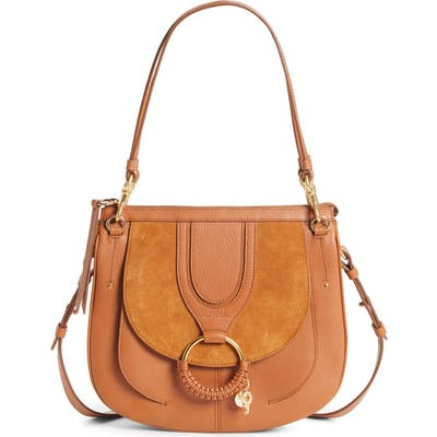 See By Chloe Hana Leather Hobo Bag - Brown