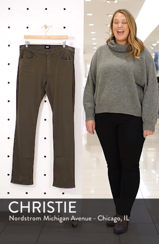 Transcend - Federal Slim Straight Leg Jeans, sales video thumbnail