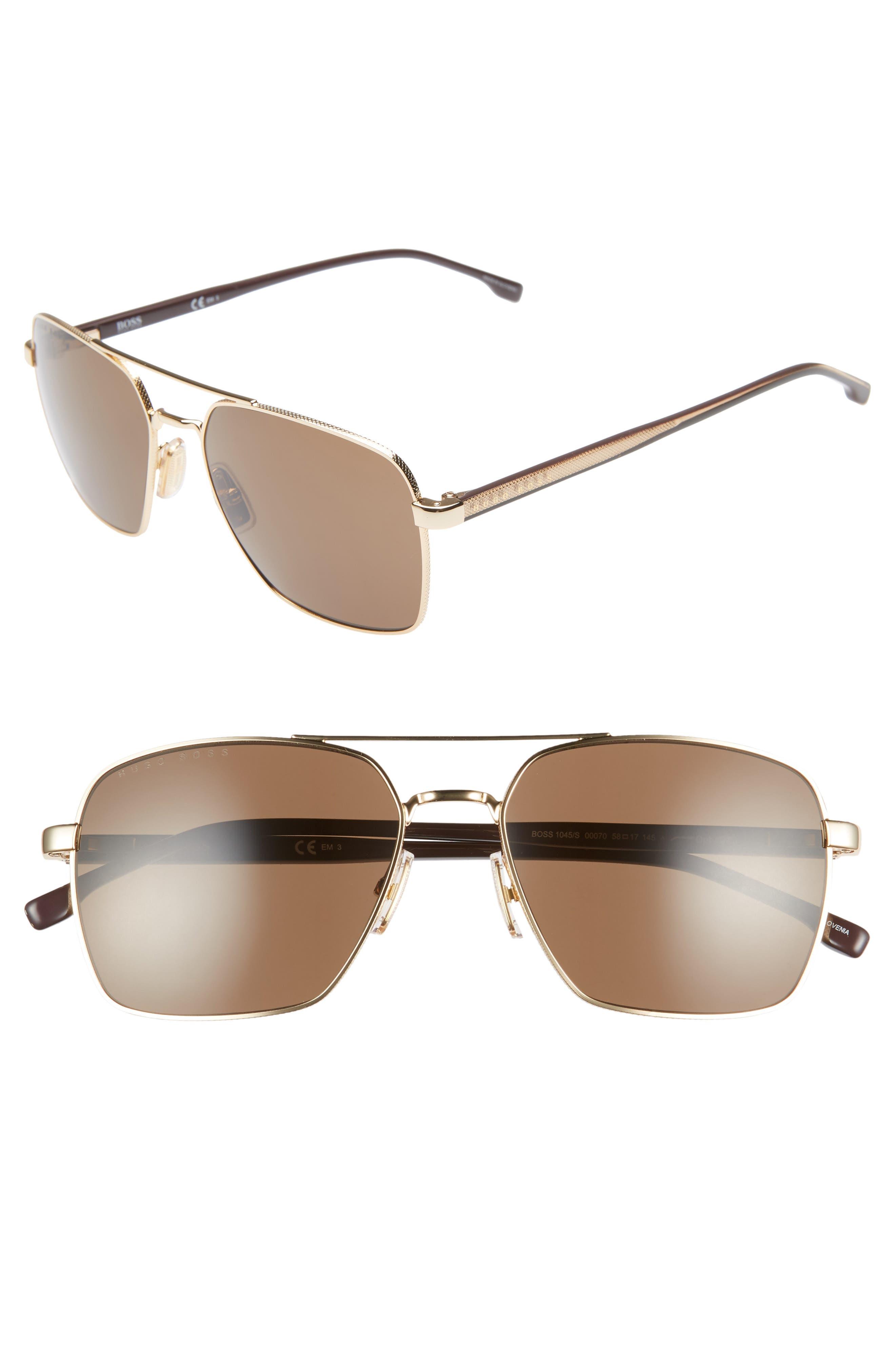 bddb0759d5a4 Boss 5m Navigator Sunglasses - Rose Gold