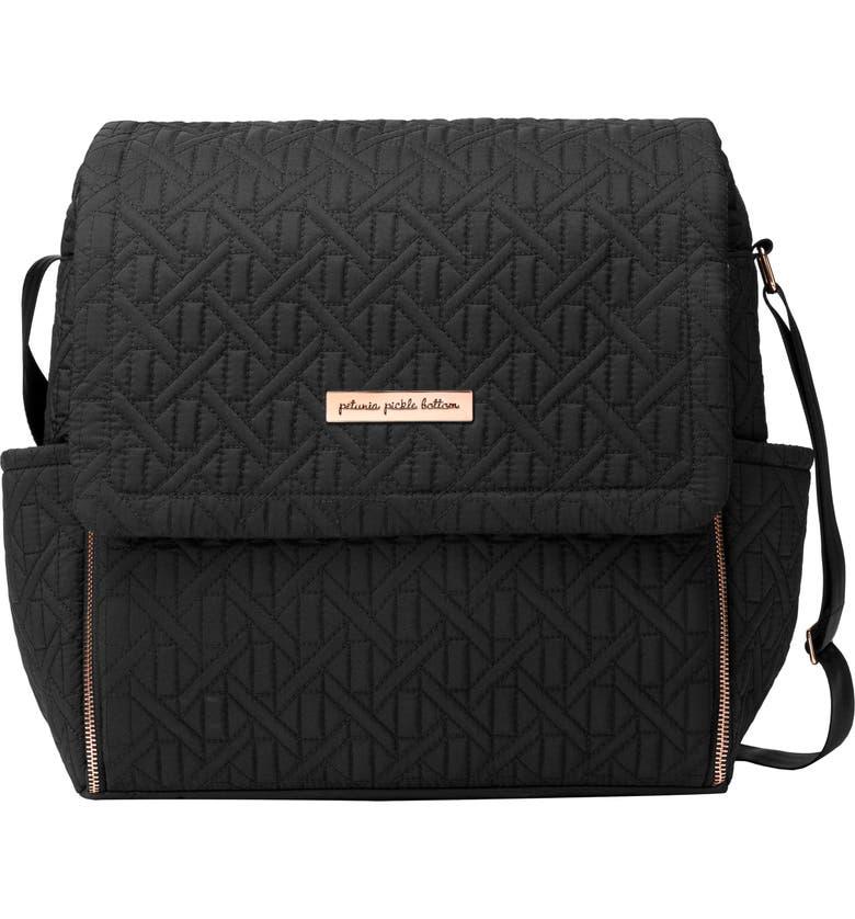 PETUNIA PICKLE BOTTOM 'Embossed Boxy' Backpack Diaper Bag, Main, color, MOONLESS ROSE