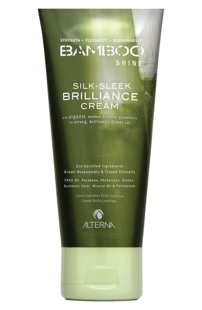 ALTERNA<SUP>®</SUP> Bamboo Shine Silk-Sleek Brilliance Cream, Main, color, NO COLOR