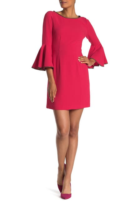Image of Trina Turk Bromely Bell Sleeve Dress