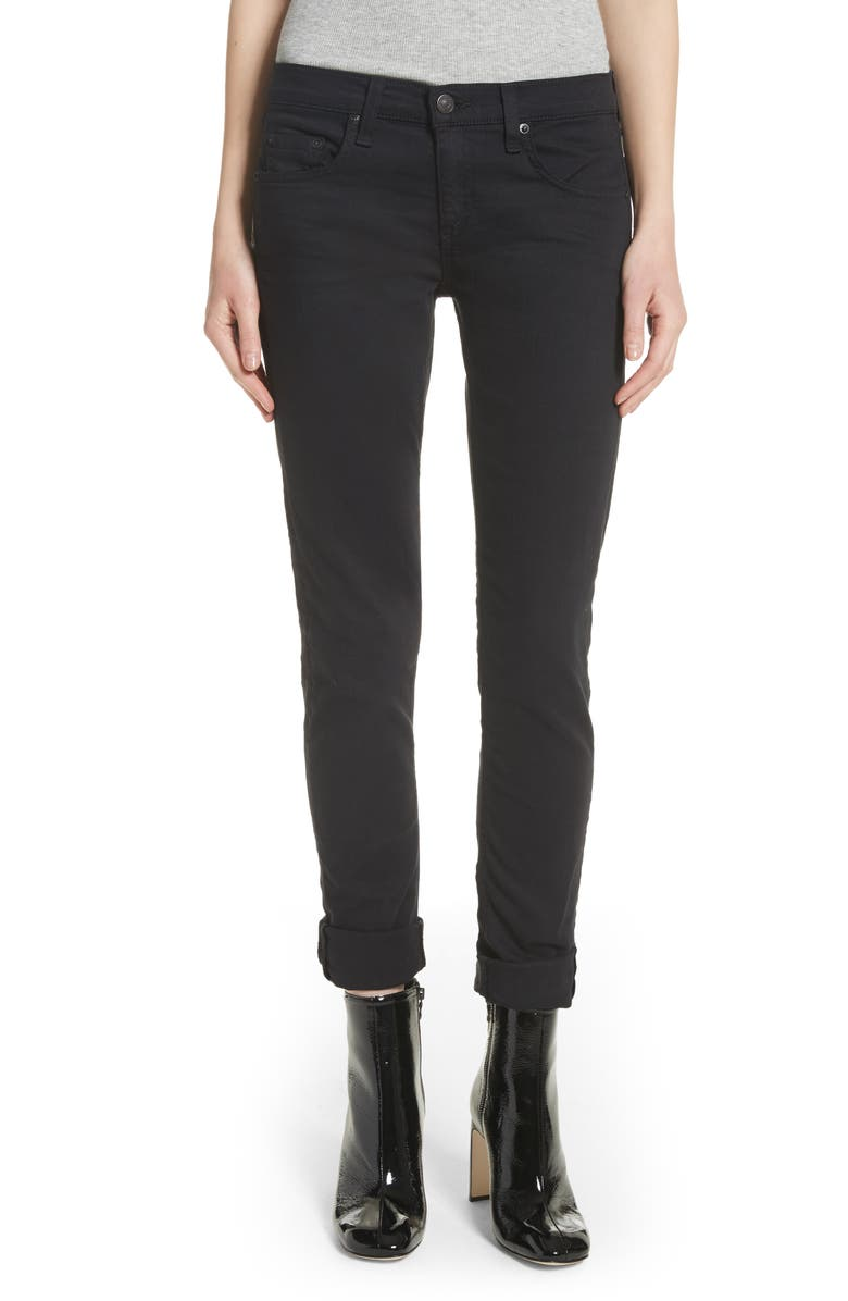 RAG & BONE 'The Dre' Skinny Jeans, Main, color, 007