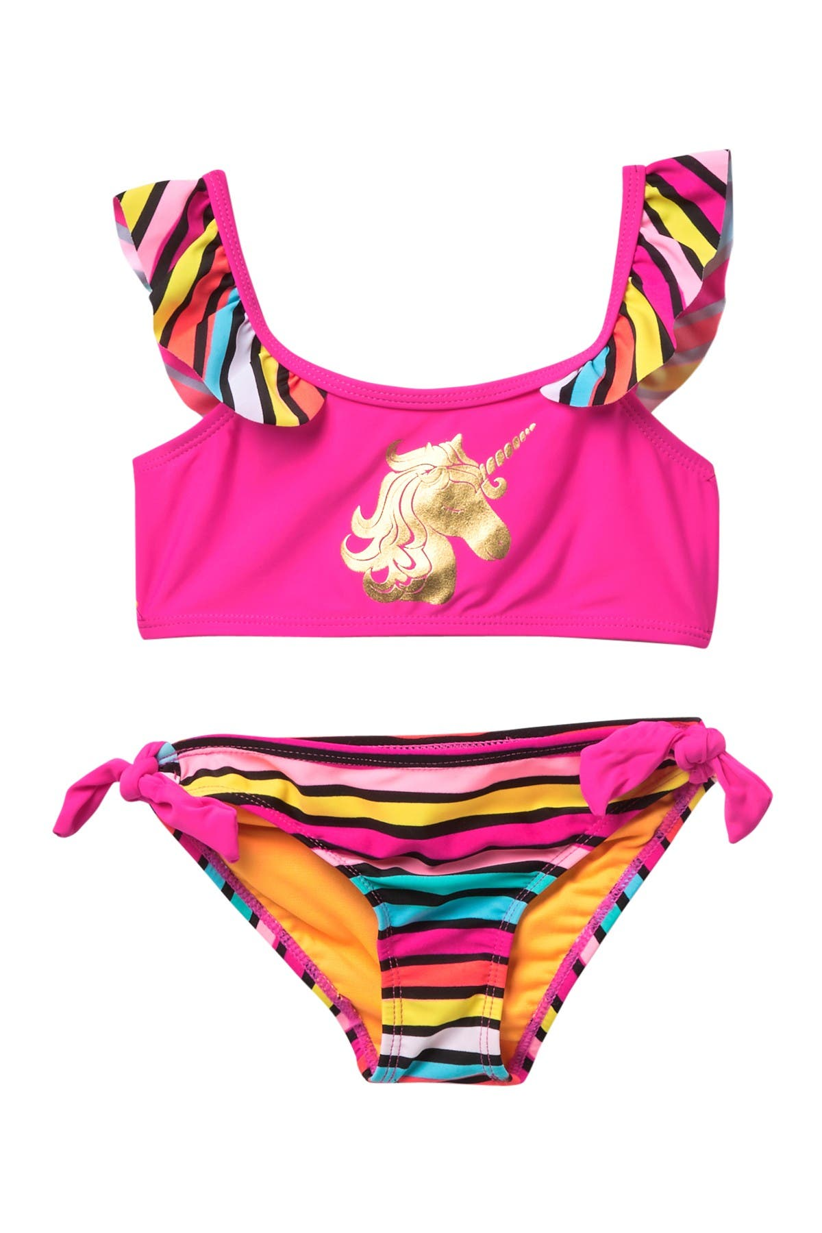 Image of Limited Too Bold Stripe 2-Piece Swimsuit