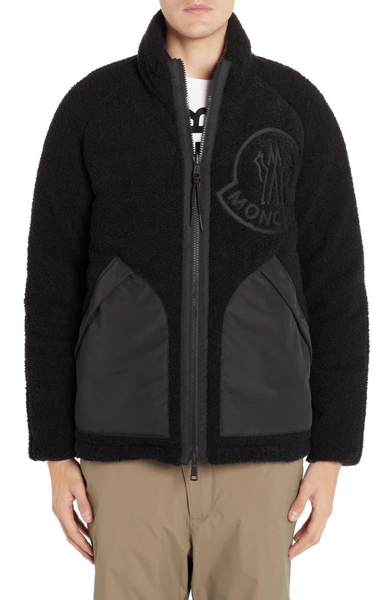 MONCLER GENIUS x 2 1952 Chalon Reversible Jacket, Main, color, BLACK