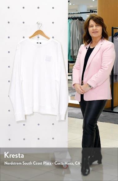 Sportswear Triple Block Crewneck Sweatshirt, sales video thumbnail
