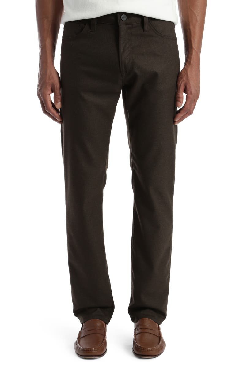 34 HERITAGE Courage Straight Leg Pants, Main, color, BROWN SUPREME