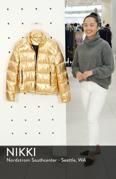 Metallic Puffer Jacket, sales video thumbnail