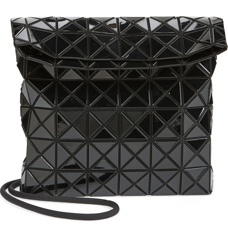 BAO BAO ISSEY MIYAKE Prism Shoulder Bag, Main, color, BLACK