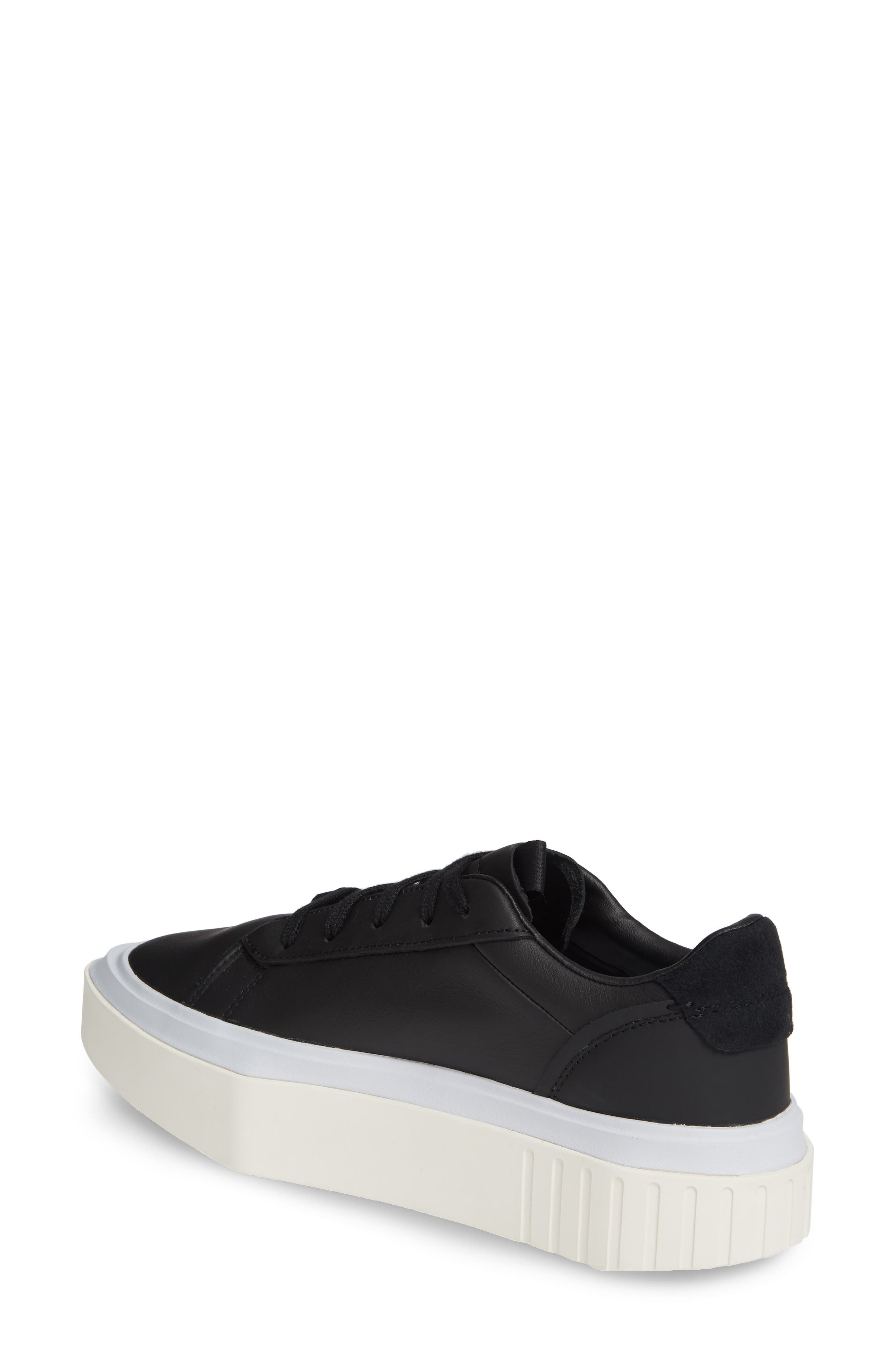 ,                             Hypersleek Platform Sneaker,                             Alternate thumbnail 2, color,                             CORE BLACK/ AERO BLUE
