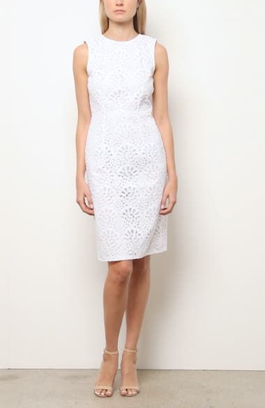 Guipure Lace Sheath Dress, video thumbnail