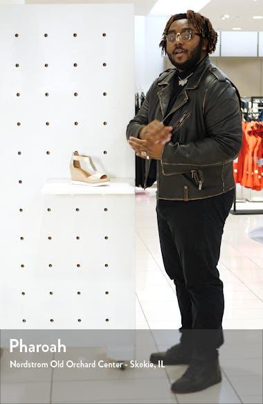 Elyssa T-Strap Wedge Sandal, sales video thumbnail