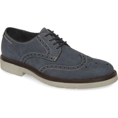 Johnston & Murphy Kinley Wingtip, Blue
