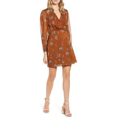 Heartloom Emmy Minidress, Brown
