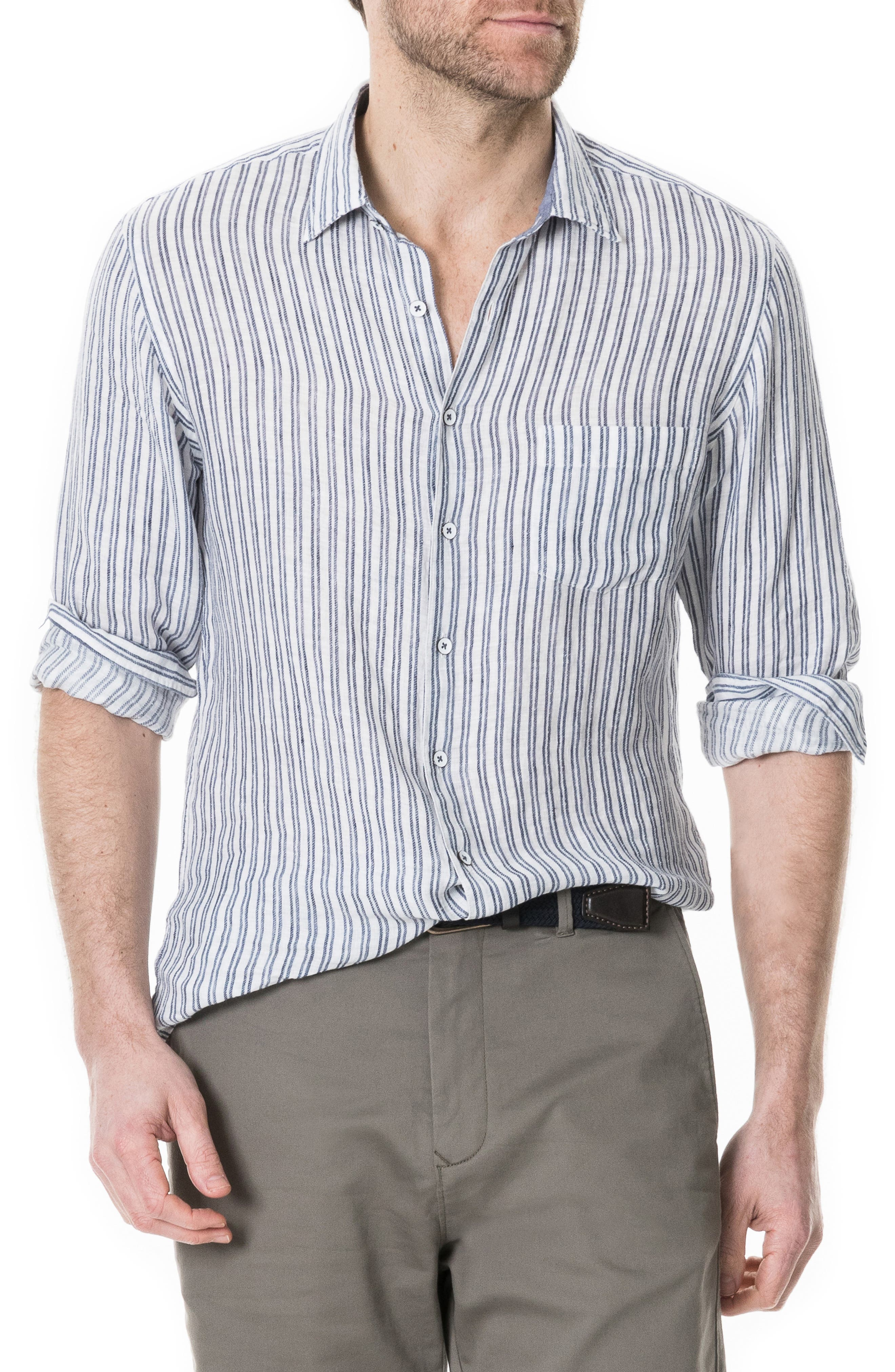 Image of RODD AND GUNN Victoria Avenue Regular Fit Shirt