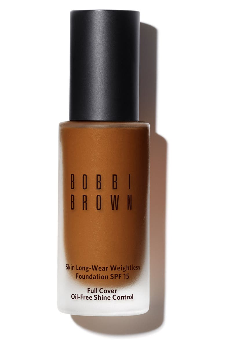 BOBBI BROWN Skin Long-Wear Weightless Foundation SPF 15, Main, color, W-086 WARM ALMOND