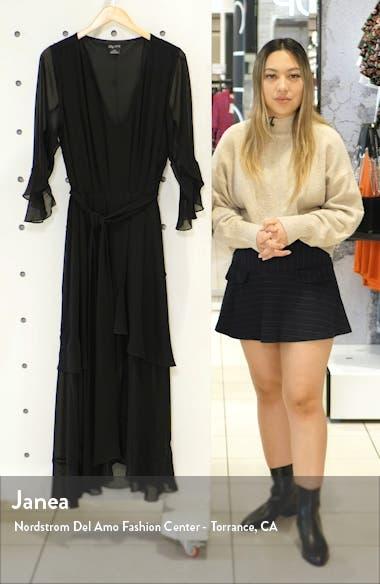 Romantic Ruffle Maxi Dress, sales video thumbnail