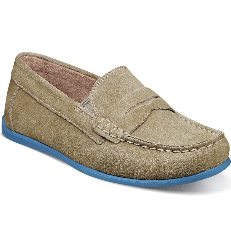 FLORSHEIM 'Jasper - Driver Jr.' Loafer, Main, color, SAND