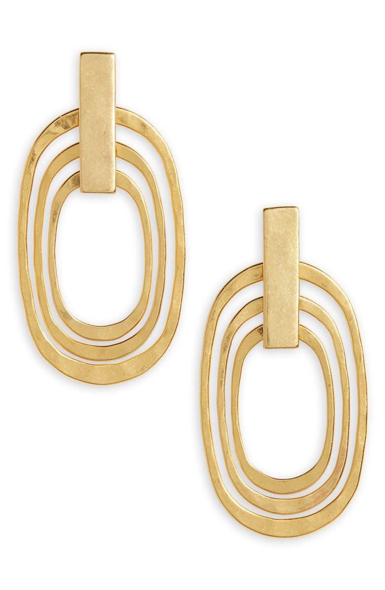 MADEWELL Latitude Earrings, Main, color, 710
