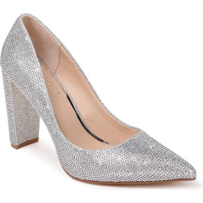 Jewel Badgley Mischka Rumor Pump, Metallic