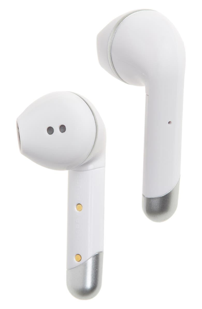 HAPPY PLUGS True Wireless In-Ear Headphones, Main, color, WHITE