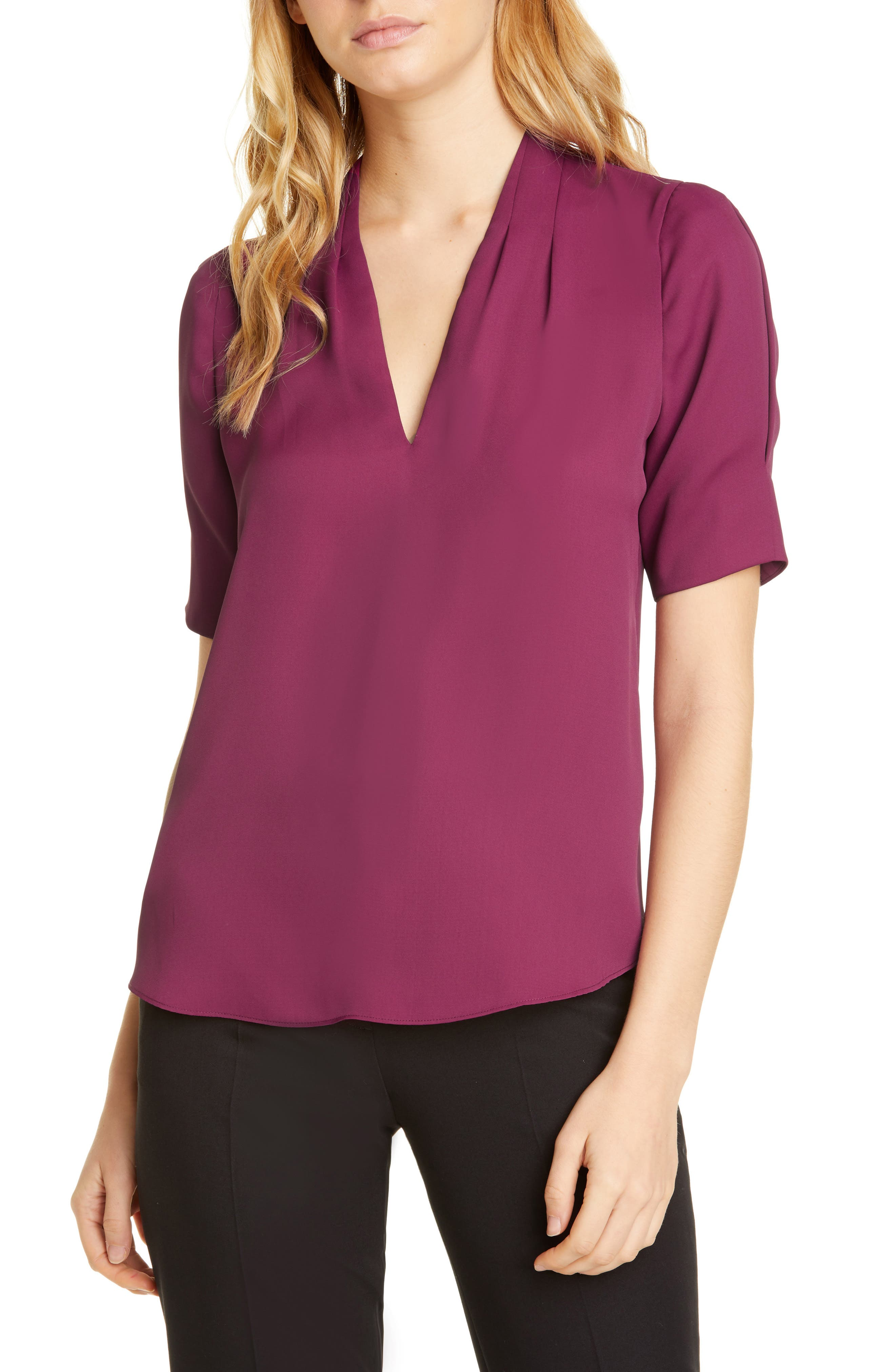 Image of Joie Ance Silk Blouse