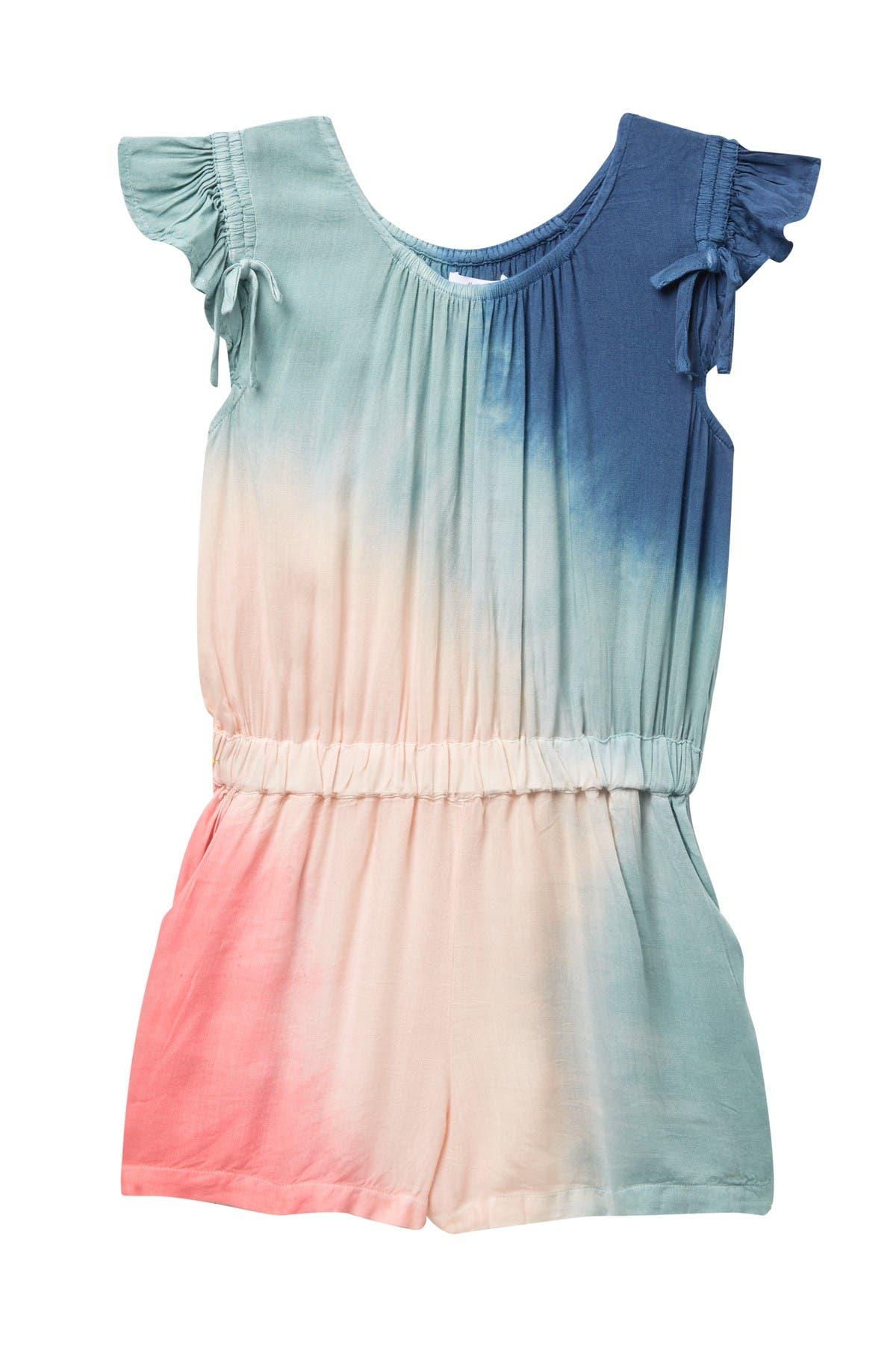 Image of Ella Moss Tie-Dye Voile Romper